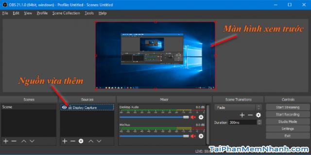 Cách sử dụng phần mềm OBS Studio để quay màn hình máy tính + Hình 11