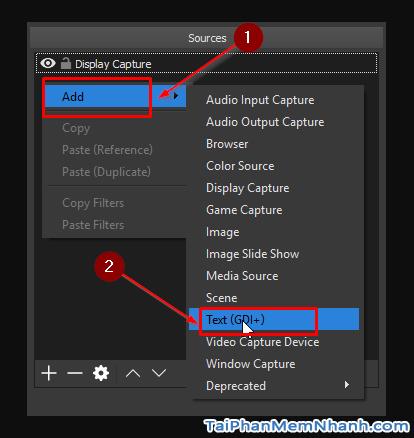Cách tạo dòng chữ chạy khi quay màn hình bằng phần mềm OBS Studio + Hình 7