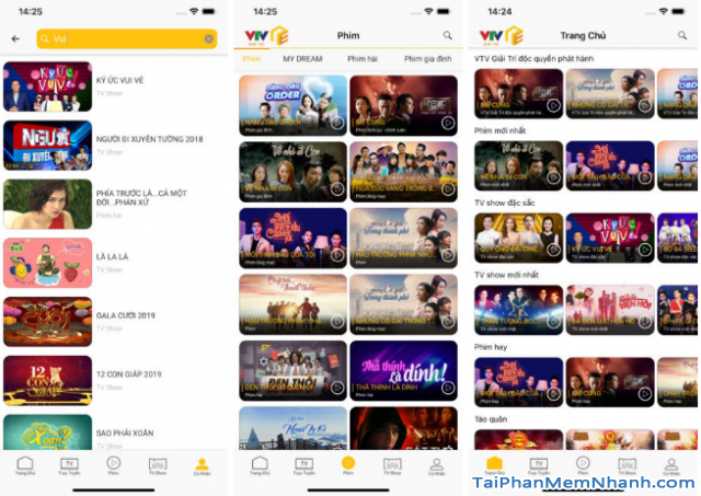 Tải ứng dụng VTV Giải trí cho điện thoại iPhone, iPad + Hình 4