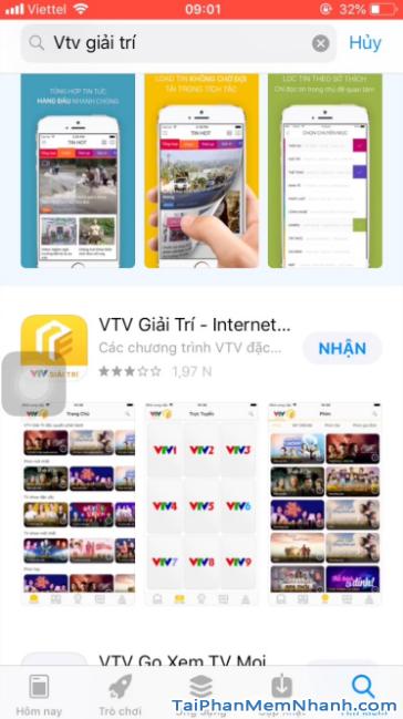 Tải ứng dụng VTV Giải trí cho điện thoại iPhone, iPad + Hình 12