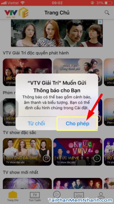 Tải ứng dụng VTV Giải trí cho điện thoại iPhone, iPad + Hình 19