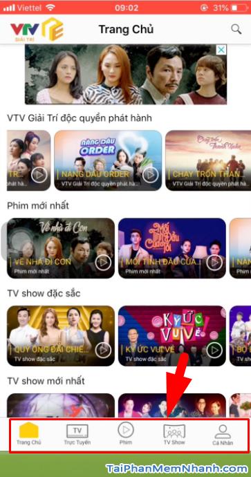 Tải ứng dụng VTV Giải trí cho điện thoại iPhone, iPad + Hình 20