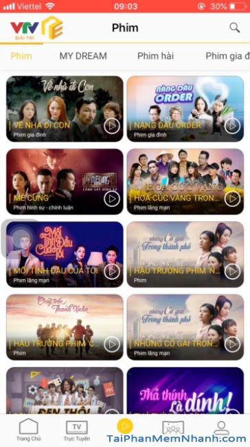 Tải ứng dụng VTV Giải trí cho điện thoại iPhone, iPad + Hình 22