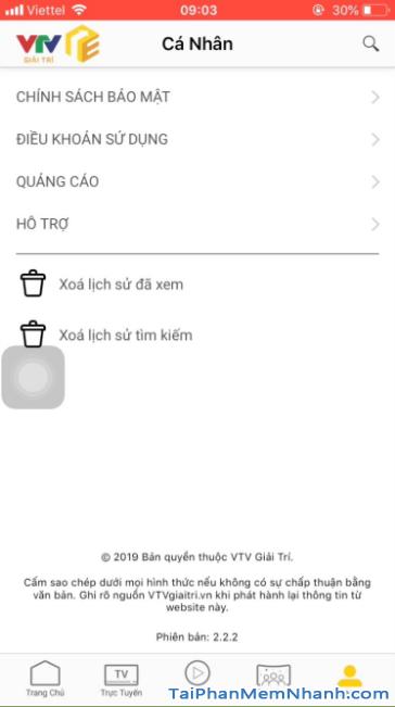 Tải ứng dụng VTV Giải trí cho điện thoại iPhone, iPad + Hình 24