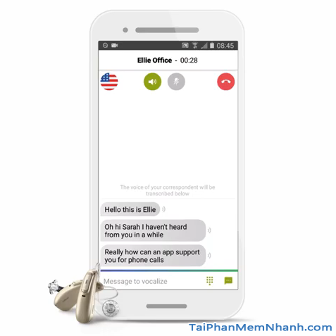 Tải Phonak myCall-to-Text: Ứng dụng chuyển lời nói thành văn bản + Hình 6