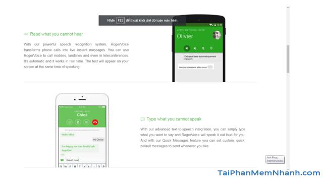 Tải Rogervoice: Ứng dụng chuyển giọng nói thành văn bản cho Android + Hình 5