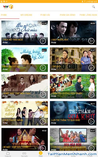 Download VTV Giải Trí - Ứng dụng xem truyền hình online trên Android + Hình 3
