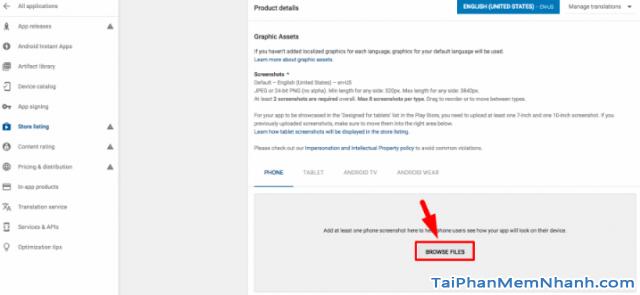 Hướng dẫn xuất bản ứng dụng di động lên cửa hàng Google Play + Hình 8