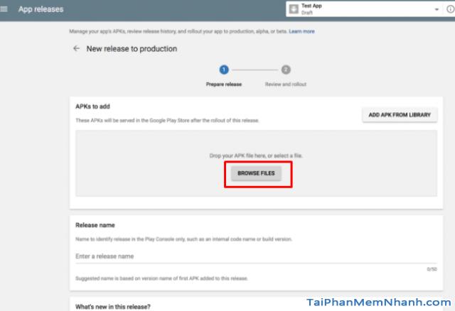 Hướng dẫn xuất bản ứng dụng di động lên cửa hàng Google Play + Hình 17