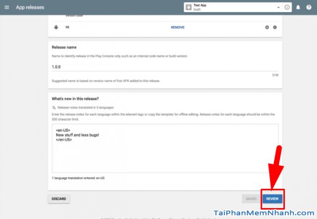Hướng dẫn xuất bản ứng dụng di động lên cửa hàng Google Play + Hình 19