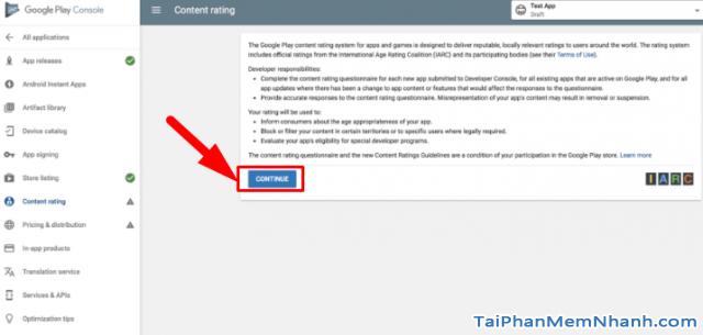 Hướng dẫn xuất bản ứng dụng di động lên cửa hàng Google Play + Hình 21