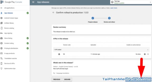 Hướng dẫn xuất bản ứng dụng di động lên cửa hàng Google Play + Hình 23