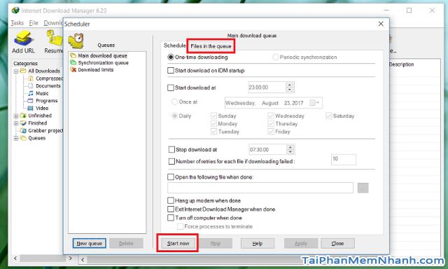 Cách tăng tốc độ tải trên Internet Download Manager + Hình 13