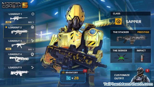 Tải game bắn súng Modern Combat 5: Blackout cho iPhone, iPad + Hình 15