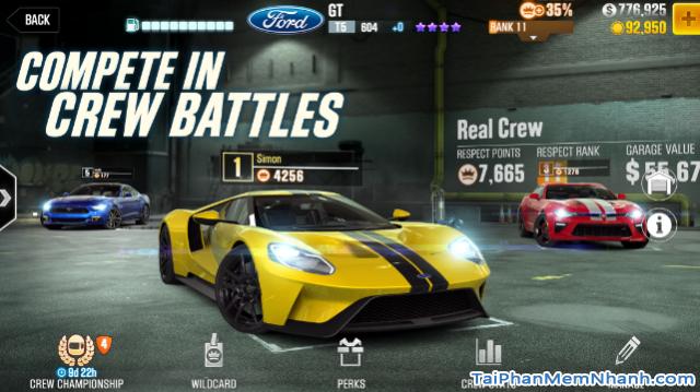 Tải game đua xe CSR Racing cho điện thoại iPhone, iPad + Hình 12