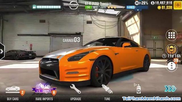 Tải game đua xe CSR Racing cho điện thoại iPhone, iPad + Hình 13