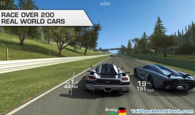 Tải cài đặt game Real Racing 3 cho điện thoại Android + Hình 3