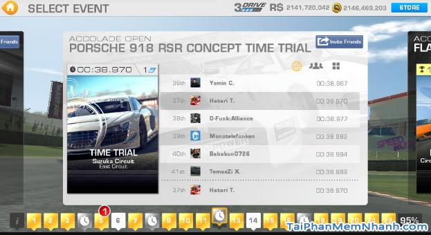 Tải cài đặt game Real Racing 3 cho điện thoại iPhone, iPad + Hình 8