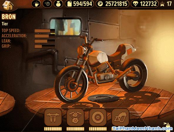 Tải game đua xe địa hình Trials Frontier cho điện thoại iPhone, iPad + Hình 3