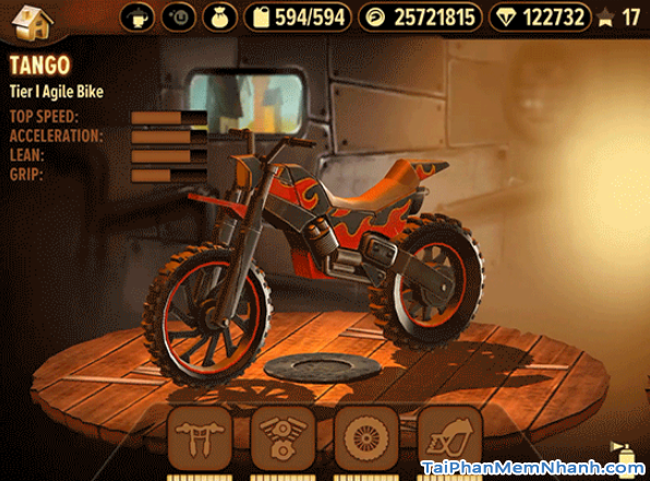 Tải game đua xe địa hình Trials Frontier cho điện thoại iPhone, iPad + Hình 9