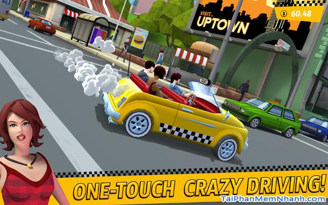 Tải game đua xe Crazy Taxi City Rush cho điện thoại Android + Hình 4