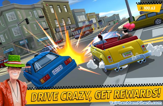 Tải game đua xe Crazy Taxi City Rush cho điện thoại Android + Hình 5