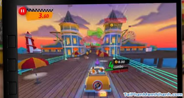 Tải game đua xe Crazy Taxi City Rush cho điện thoại Android + Hình 8