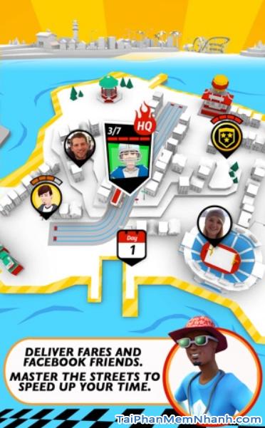 Tải game đua xe Crazy Taxi City Rush cho điện thoại iPhone, iPad + Hình 5