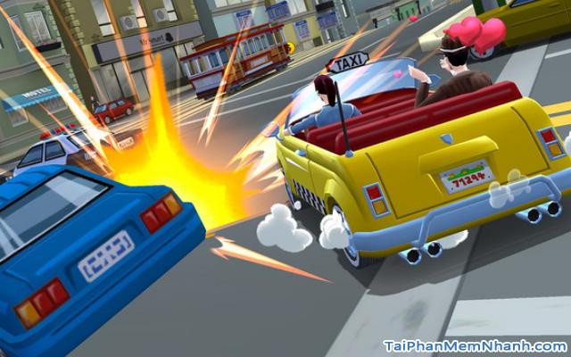 Tải game đua xe Crazy Taxi City Rush cho điện thoại iPhone, iPad + Hình 9