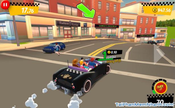 Tải game đua xe Crazy Taxi City Rush cho điện thoại iPhone, iPad + Hình 12