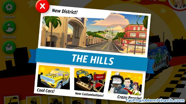 Tải game đua xe Crazy Taxi City Rush cho điện thoại iPhone, iPad + Hình 17