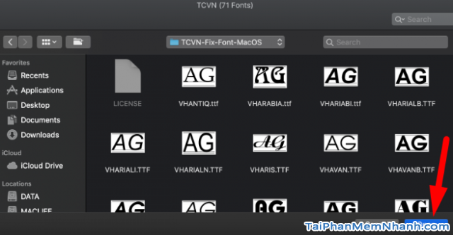 Hướng dẫn tải cài đặt và sửa lỗi Font TCVN trên Macbook + Hình 6