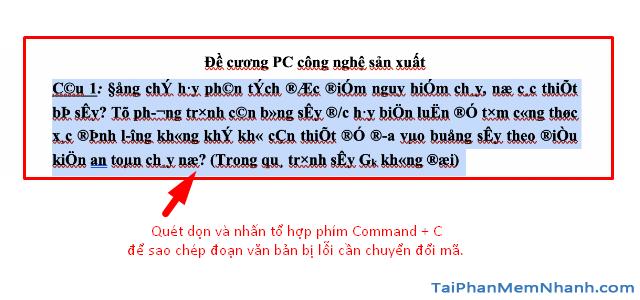Hướng dẫn tải cài đặt và sửa lỗi Font TCVN trên Macbook + Hình 10