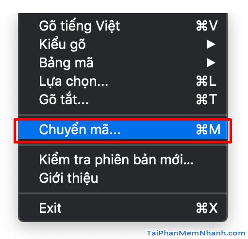 Hướng dẫn tải cài đặt và sửa lỗi Font TCVN trên Macbook + Hình 11