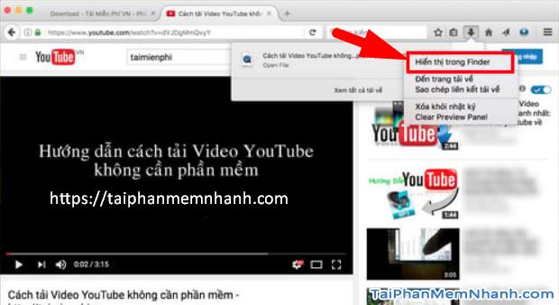 Các cách tải Video, Audio từ YouTube về máy tính MAC + Hình 13