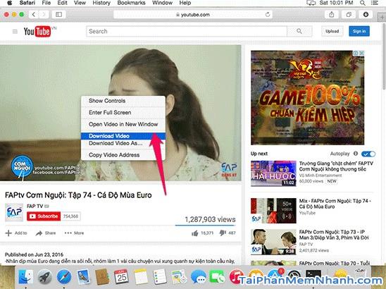 Các cách tải Video, Audio từ YouTube về máy tính MAC + Hình 17