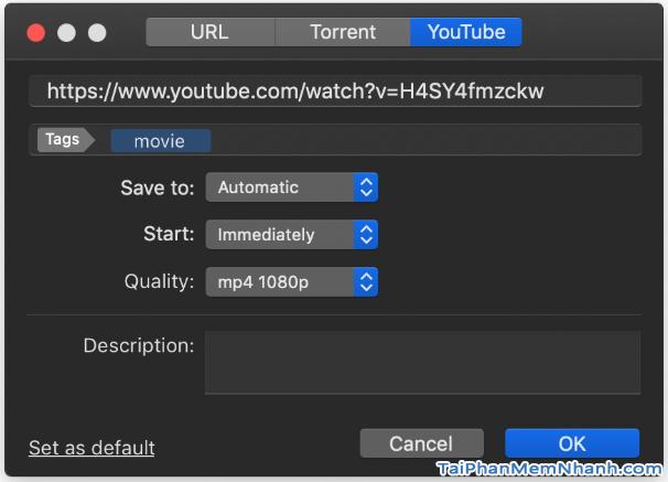 Các cách tải Video, Audio từ YouTube về máy tính MAC + Hình 21