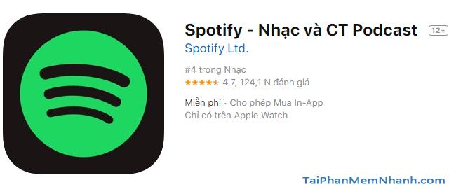 Tải cài đặt ứng dụng nghe nhạc Spotify cho iOS + Hình 4