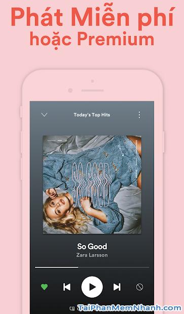 Tải cài đặt ứng dụng nghe nhạc Spotify cho Android + Hình 3