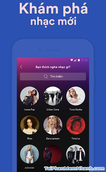 Tải cài đặt ứng dụng nghe nhạc Spotify cho Android + Hình 4