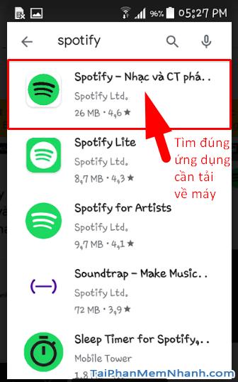 Tải cài đặt ứng dụng nghe nhạc Spotify cho Android + Hình 14