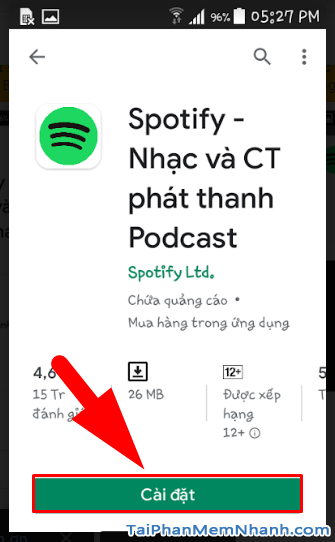 Tải cài đặt ứng dụng nghe nhạc Spotify cho Android + Hình 15