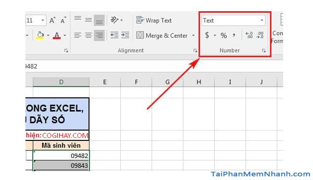 3 Cách nhập dãy số bắt đầu bằng chữ số 0 trên Microsoft Excel + Hình 12
