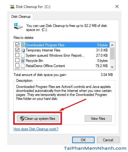 Hướng dẫn xóa thực mục Windows.old Windows 7, 8, 8.1, 10 + Hình 6