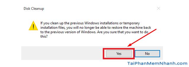 Hướng dẫn xóa thực mục Windows.old Windows 7, 8, 8.1, 10 + Hình 9
