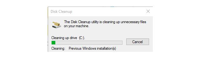 Hướng dẫn xóa thực mục Windows.old Windows 7, 8, 8.1, 10 + Hình 10