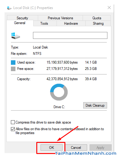 Hướng dẫn xóa thực mục Windows.old Windows 7, 8, 8.1, 10 + Hình 11