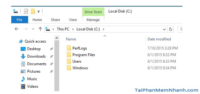 Hướng dẫn xóa thực mục Windows.old Windows 7, 8, 8.1, 10 + Hình 12