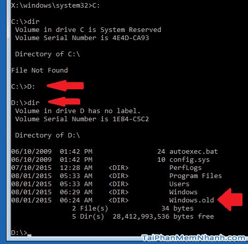 Hướng dẫn xóa thực mục Windows.old Windows 7, 8, 8.1, 10 + Hình 24