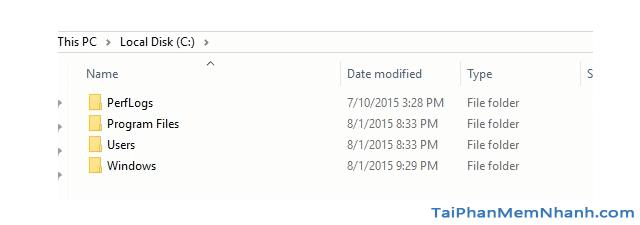 Hướng dẫn xóa thực mục Windows.old Windows 7, 8, 8.1, 10 + Hình 29